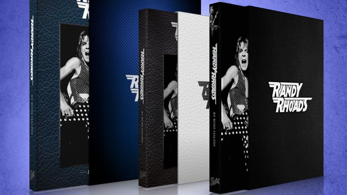 Randy Rhoads by Ross Halfin: Available for pre-order from 3pm tomorrow from Rufus Publications