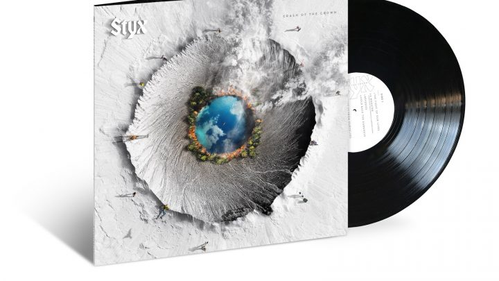 STYX – FIRST NEW STUDIO ALBUM IN FOUR YEARS 'CRASH OF THE CROWN'