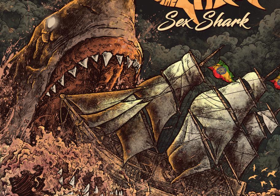 Heritage Fishing Metal stars The Catch unveil the video to debut single 'Sex Shark' – featuring members of Alestorm, Korpiklaani, Gwar, Ensiferum, Cruachan, Skalmold, Skiltron