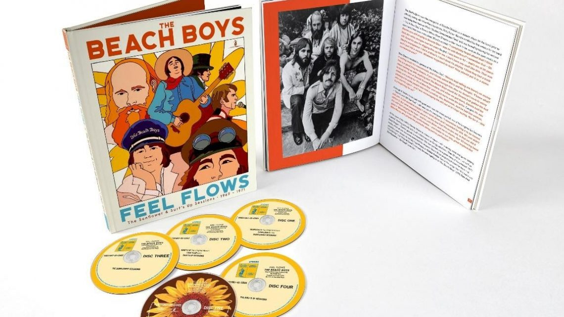 THE BEACH BOYS SHARE TWO UNRELEASED TRACKS FROM FORTHCOMING NEW BOX SET, FEEL FLOWS – THE SUNFLOWER & SURF'S UP SESSIONS 1969-1971
