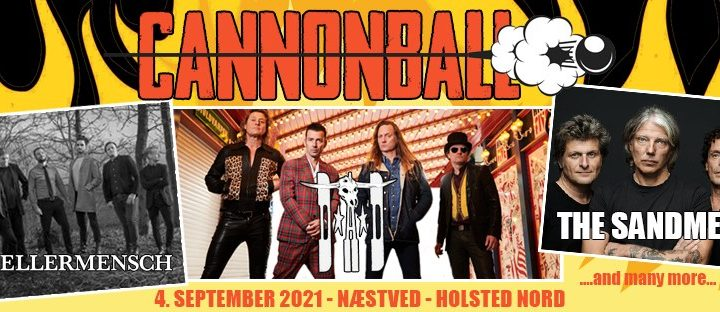 D-A-D headlines the biggest outdoor rockfestival in Scandinavia in 2021 – Cannonball!