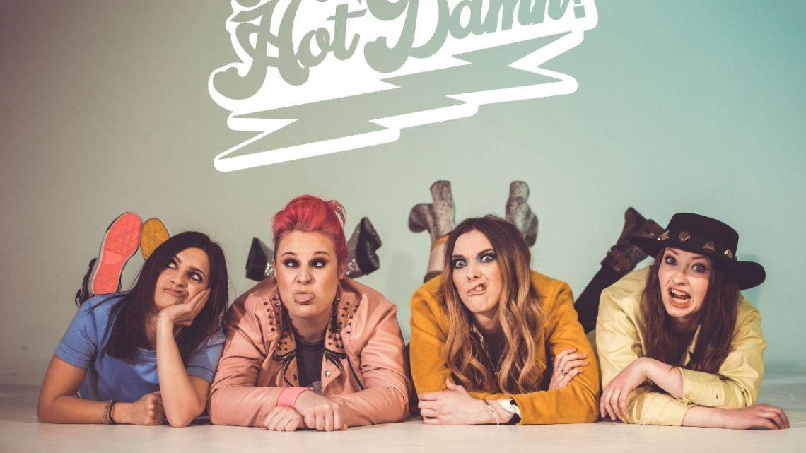 "Introducing The Hot Damn!'s debut single ""Dance Around"" 🔥❗💃"