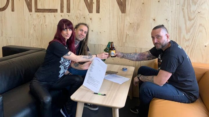 LIV SIN signs to Mighty Music