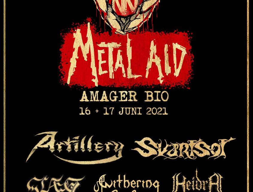 METAL AID  – LIVE IN AMAGER BIO 16th & 17th JUNE