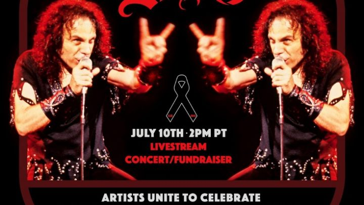 ROB HALFORD, TENACIOUS D, SAMMY HAGAR,  LZZY HALE, AND SEBASTIAN BACH AMONG STARS ADDED TO JULY 10 LINEUP  'STAND UP AND SHOUT FOR RONNIE JAMES DIO'S BIRTHDAY'