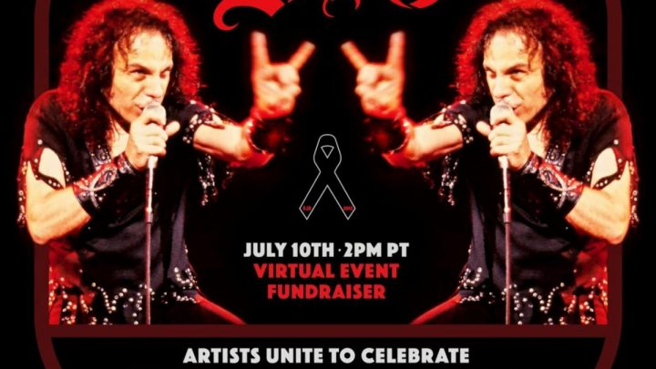 Ronnie James Dio's Birthday Will Be Celebrated on July 10 with Star-Studded Global Virtual Fundraiser Benefiting the Ronnie James Dio Stand Up and Shout Cancer Fund