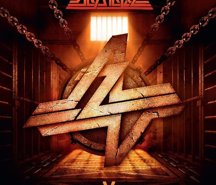 """ALCATRAZZ     TO RELEASE THEIR LATEST ALBUM """"V"""" ON OCTOBER 15th2021 VIA SILVER LINING MUSIC AVAILABLE TO PRE-ORDER"""