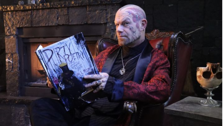 Five Finger Death Punch Frontman Makes Literary Debut With An Illustrated Book of Original Poems in Time for Halloween