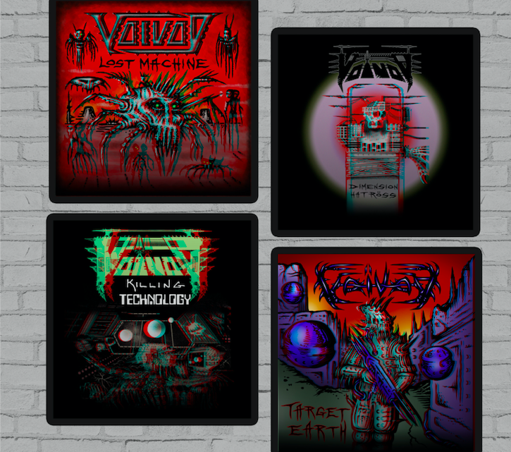 Canadian prog-metal stalwarts VOÏVOD roll-out kickstarter to continue documentary film.