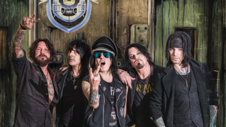 L.A. GUNS : 'Checkered Past' – brand new studio album by revered hard rock act out 12.11.21 via Frontiers
