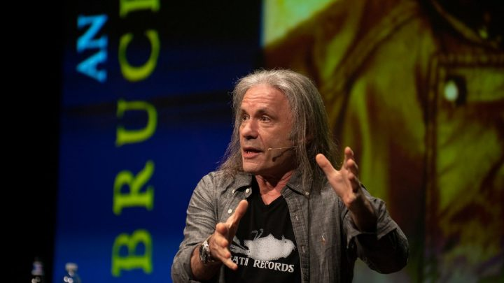 AN EVENING WITH BRUCE DICKINSON – FEATURING Q&A   TWO DECEMBER 2021 DATES ADDED TO SPOKEN WORD UK TOUR
