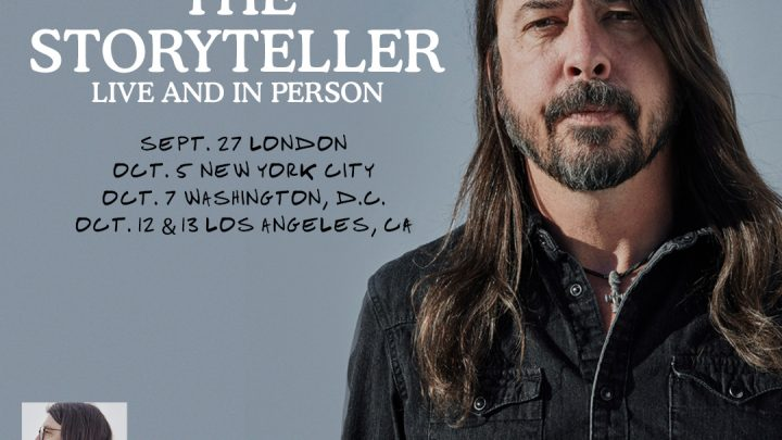 DAVE GROHL — THE STORYTELLER — LIVE!