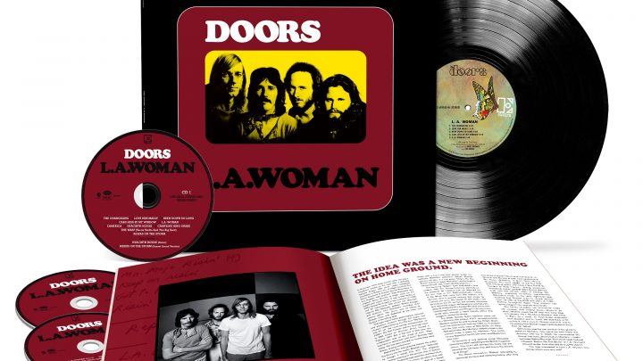 THE DOORS L.A. WOMAN   50th ANNIVERSARY DELUXE EDITION