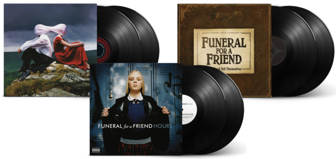 Funeral For A Friend reissue their first three album on double-vinyl sets