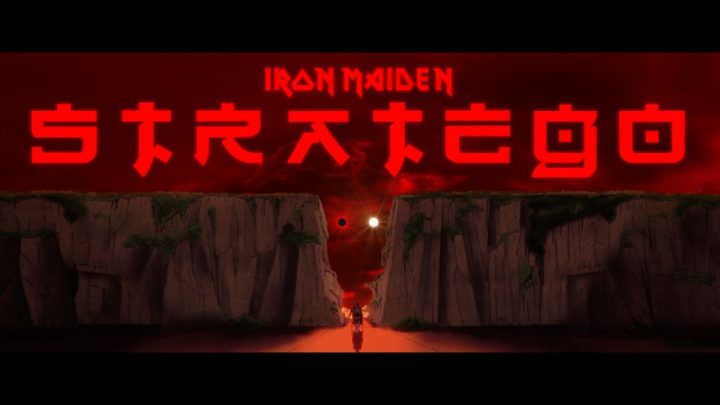 IRON MAIDEN RELEASE NEW ANIMATED VIDEO FOR 'STRATEGO'