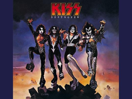 """Rock Icons Kiss Celebrate Multi-Platinum """"Destroyer"""" Album"""