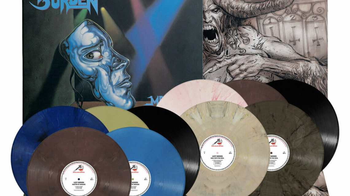 Lizzy Borden: 'Master of Disguise', 'Deal with the Devil' vinyl re-issues