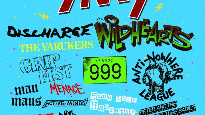 The Skids, Discharge, The Wildhearts and the biggest names in punk hit Scarborough in March '22!