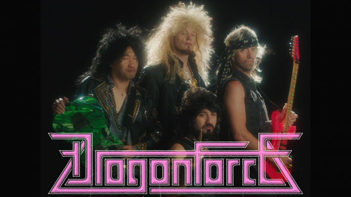 DragonForce goes full 80s-glam in new video
